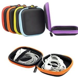 Accessories - Digital Headphone, Chargers Carrying Box Bag